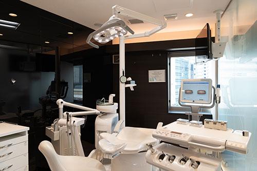 三宮アップル歯科7F 特診室