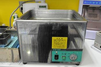 超音波洗浄機