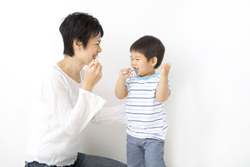 歯磨きをおそろかにしている。歯医者の定期検診に行っていない。