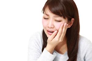 歯の根が痛い